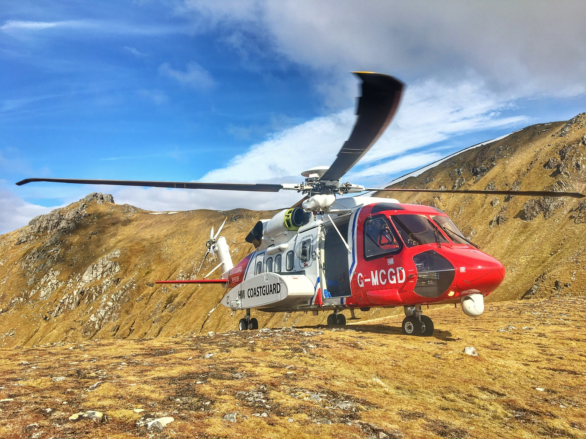 Stornoway Search and Rescue helicopter team complete 1,000th tasking